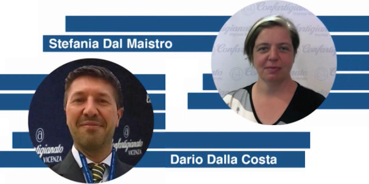 Stefania Dal Maistro nuova presidente nazionale delle Imprese del Verde; Dario Dalla Costa riconfermato alla stessa carica per i Termoidraulici