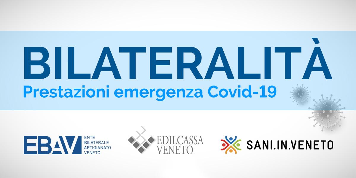 Bilateralità, prestazioni per emergenza Covid-19