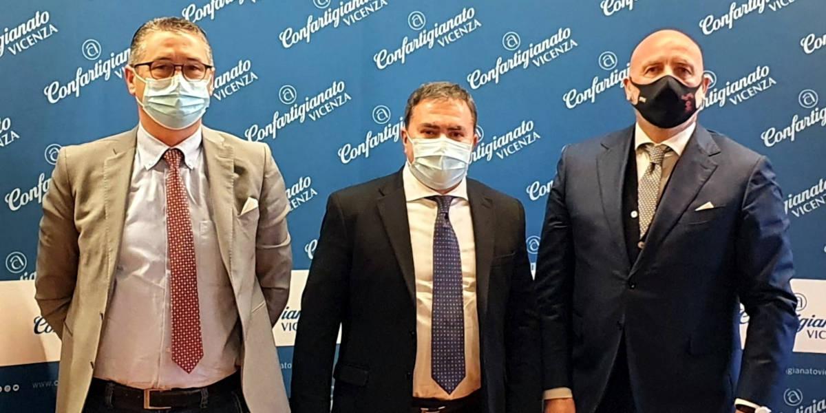 Incontro tra Confartigianato Imprese Vicenza e neo direttore ULSS 7, Carlo Bramezza