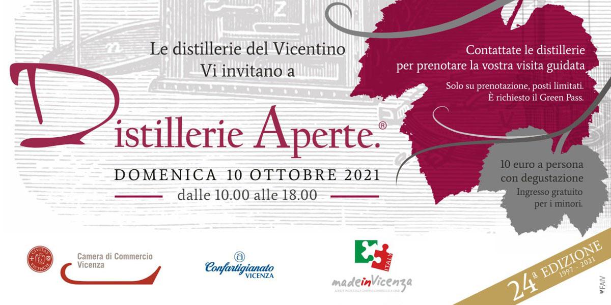Distillerie Aperte ritorna domenica 10 ottobre e celebra i 25 anni dalla prima edizione