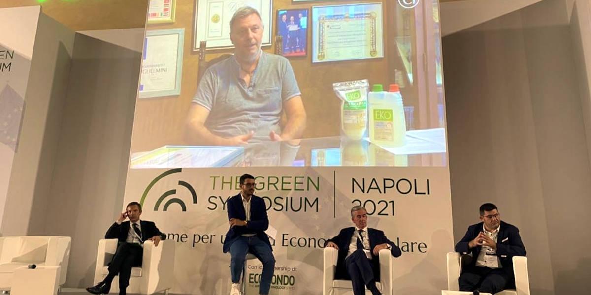 Arnaldo Guglielmini, presidente della categoria Concia Chimica e Plastica di Confartigianato Vicenza, tra gli ospiti al The Green Symposium di Napoli